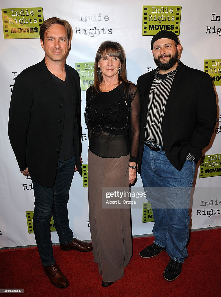 Producers Michael Madison Linda Nelson and director Chris Hansen arrive for the 'Where We Started' Los Angeles Film Premiere held at the Arena...