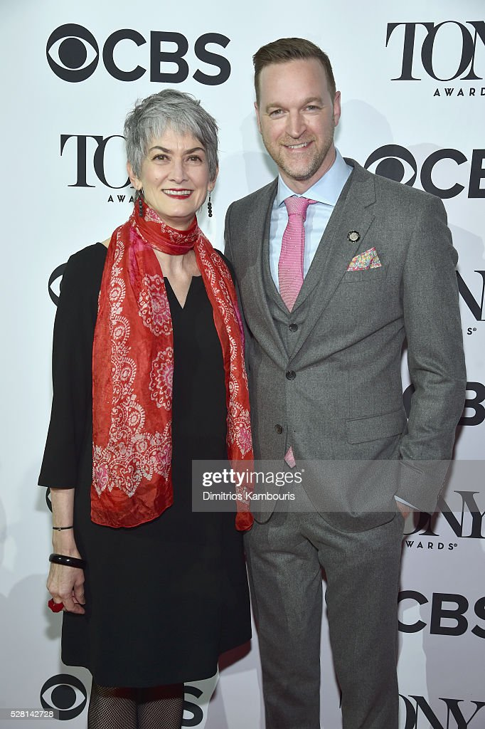 Producers Nina Lannan and Jamie Forshaw attends the 2016 Tony Awards Meet The Nominees Press Reception on May 4, 2016 in New York City.