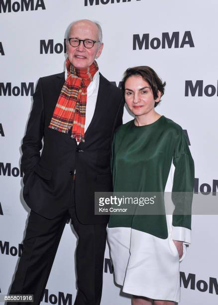 Producers Nurhan SekerciPorst and Herman Weigel attend the MoMA's Contenders Screening of 'In The Fade' at MOMA on December 4 2017 in New York City