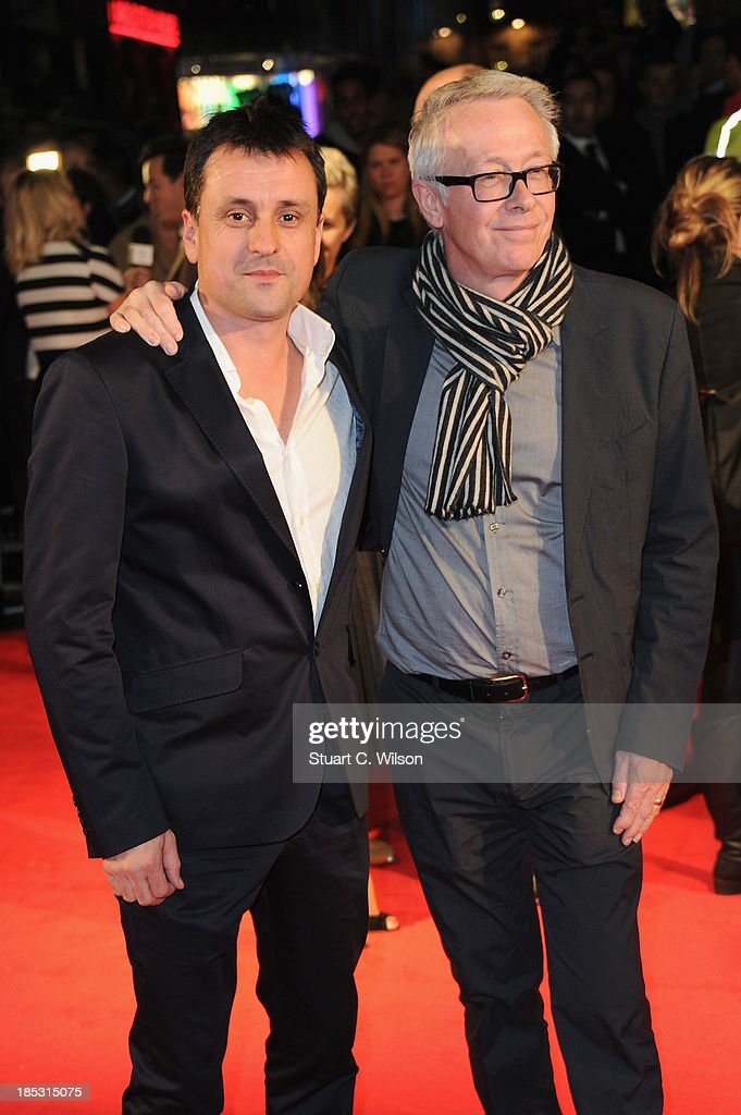 Producers Paul Webster and Guy Heeley attend a screening of 'Locke' during the 57th BFI London Film Festival at Odeon West End on October 18, 2013 in London, England.