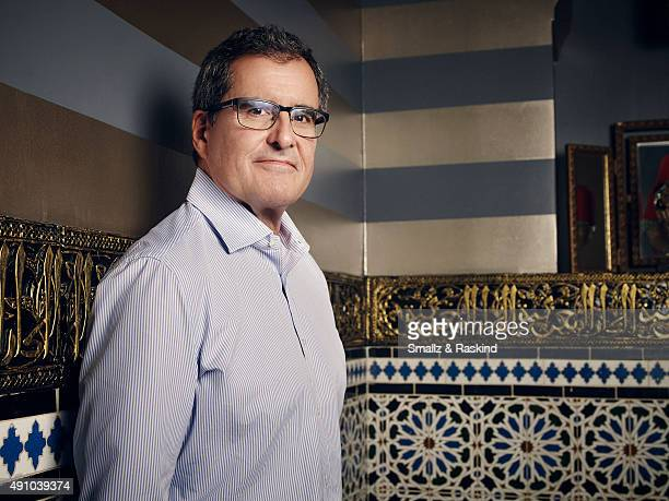Producers Peter Chernin is photographed for Vibe Magazine on October 23 2014 in Los Angeles California John Lesher