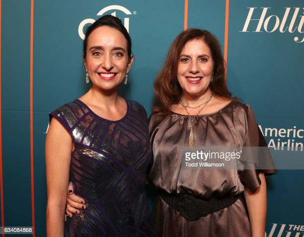 Producers Raphaela Neihausen and Kahane Cooperman attend The Hollywood Reporter 5th Annual Nominees Night at Spago on February 6 2017 in Beverly...