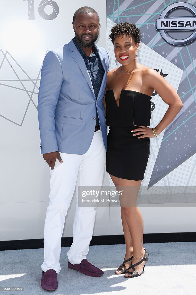 Producers Rob Hardy (L) and Mitzi Miller attend the 2016 BET Awards at the Microsoft Theater on June 26, 2016 in Los Angeles, California.