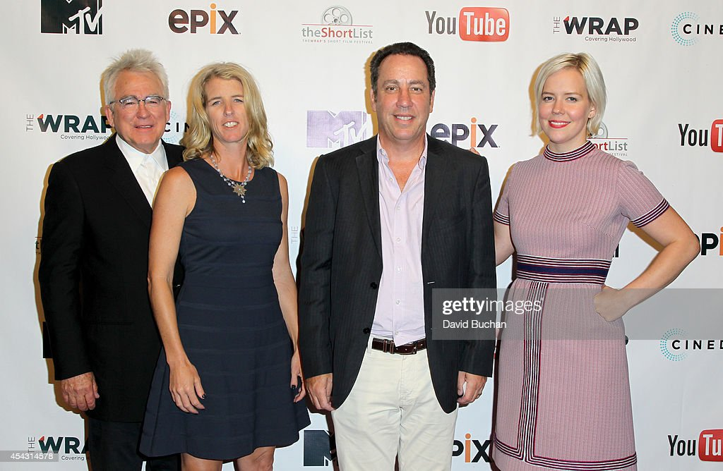 Producers Ron Yerxa Rory Kennedy Executive Editor at TheWrap Joseph Anthony Kapsch and talent agent Hailey Wierengo attend TheWrap's ShortList Film...