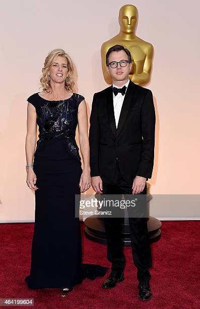 Producers Rory Kennedy and Keven McAlester attend the 87th Annual Academy Awards at Hollywood Highland Center on February 22 2015 in Hollywood...