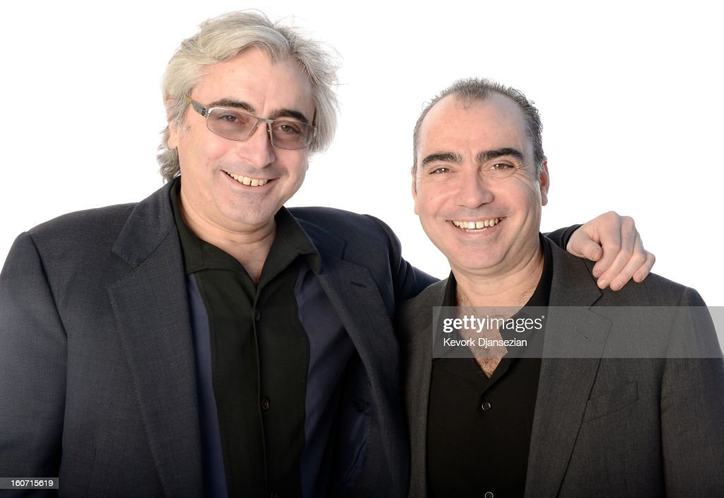 Producers Todd Wider (L) and Jedd Wider pose for a portrait during the 85th Academy Awards Nominations Luncheon at The Beverly Hilton Hotel on February 4, 2013 in Beverly Hills, California.