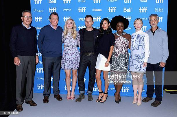 Producers Tom Rosenberg Gary Lucchesi actress Dakota Fanning actor/director Ewan McGregor actors Jennifer Connelly Uzo Aduba Valorie Curry and David...