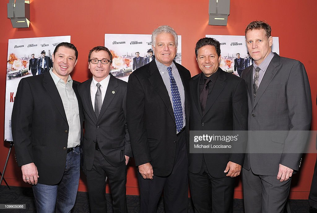 Producers Tommy Reid, Bart Rosenblatt, Eugene Musso, guest, and Al Corley attend the premiere of 'Kill the Irishman' at Landmark's Sunshine Cinema on March 7, 2011 in New York City.