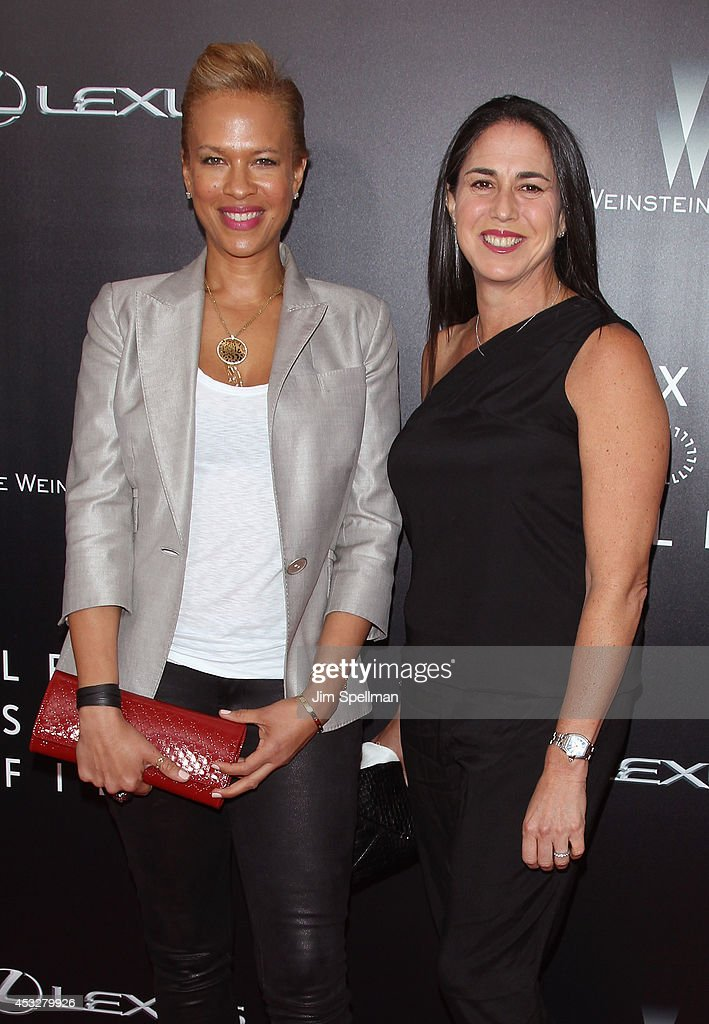 Producers Tonya Lewis Lee and Nikki Silver attend the 'Life is Amazing' Lexus Short Films Series at SVA Theater on August 6, 2014 in New York City.