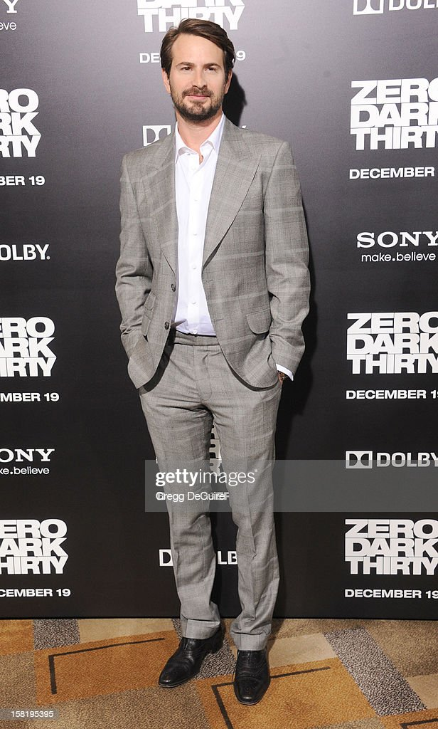 Producer/screenwriter Mark Boal arrives at the Los Angeles premiere of 'Zero Dark Thirty' at the Dolby Theatre on December 10, 2012 in Hollywood, California.