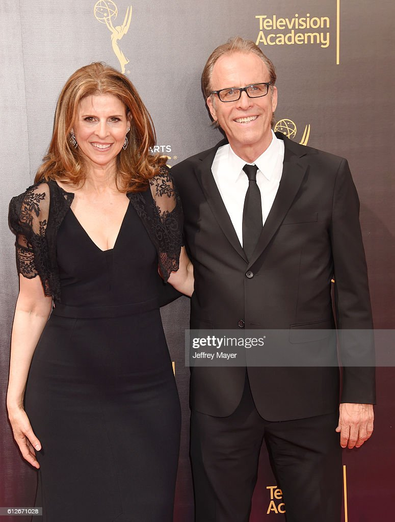 Producers/directors Amy Ziering and Kirby Dick attend the 2016 Creative Arts Emmy Awards held at Microsoft Theater on September 11, 2016 in Los Angeles, California.