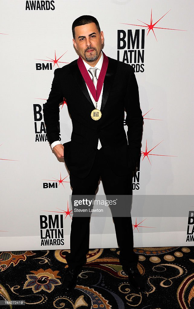 Producer/songwriter Nesty arrives at the BMI;s 20th Annual Latin Music Awards at the Bellagio on March 21, 2013 in Las Vegas, Nevada.
