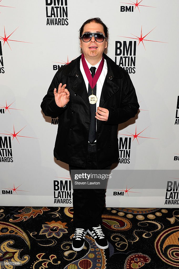 Producer/songwriter Toy Selectah arrives at the BMI;s 20th Annual Latin Music Awards at the Bellagio on March 21, 2013 in Las Vegas, Nevada.