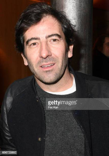 Producer/TV presenter Pierre Mathieu attends 'Apero Mecs A Legumes' Party Hosted by Grand Seigneur Magazine at the Bistrot Marguerite on March 22...