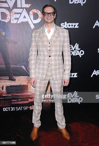 Producer/writer Bryan Fuller arrives at the Premiere of STARZ's 'Ash vs Evil Dead' at TCL Chinese Theatre on October 28 2015 in Hollywood California