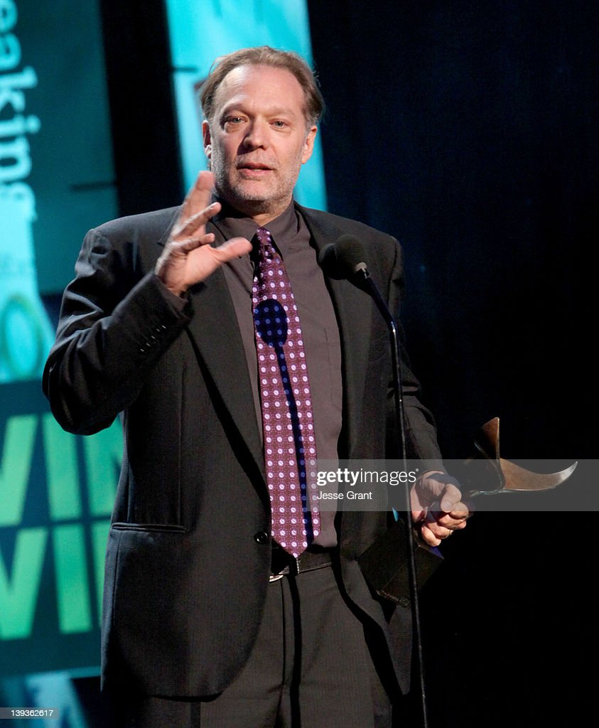 Producer/writer Greg Nicotero accepts the Outstanding Achievement in Writing Derivative New Media award for 'The Walking Dead' onstage during the 2012 Writers Guild Awards at the Hollywood Palladium on February 19, 2012 in Los Angeles, California.