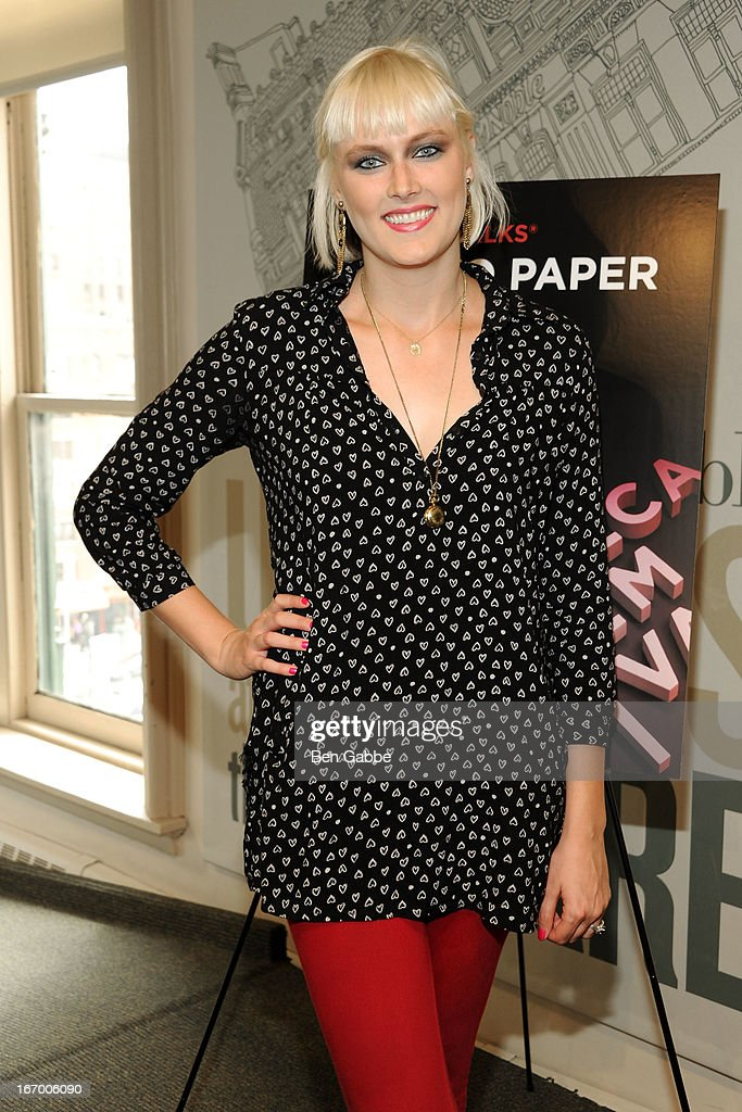 Producer/Writer Laura Goode attends Tribeca Talks Pen To Paper: New Chick Flicks at Barnes & Noble Union Square on April 19, 2013 in New York City.