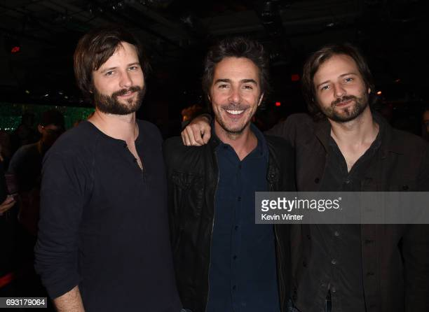 Producer/writers Matt Duffer Shawn Levy and Ross Duffer attend Netflix's 'Stranger Things' For Your Consideration event at Netflix FYSee Space on...