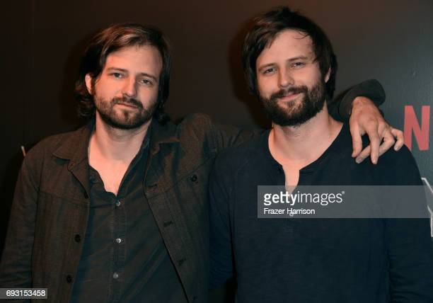 Producer/writers Ross Duffer and Matt Duffer attend Netflix's 'Stranger Things' For Your Consideration event at Netflix FYSee Space on June 6 2017 in...