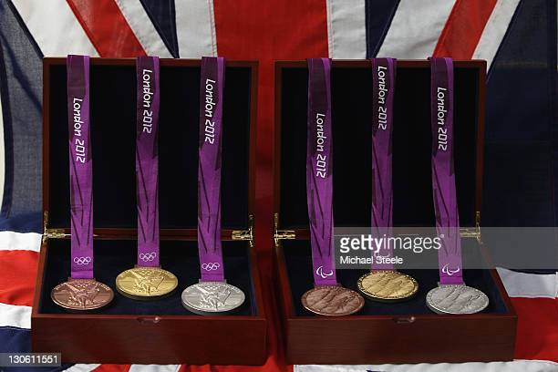 Production begins on the London 2012 victory medals at the Royal Mint on October 27 2011 in Pontyclun Wales A total of 4700 medals will be made split...