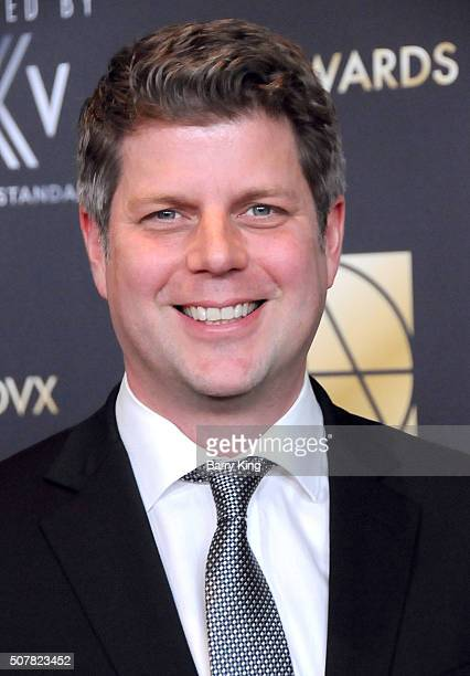 Production Designer Adam Stockhausen attends Art Directors Guild 20th Annual Excellence in Production Awards at The Beverly Hilton Hotel on January...