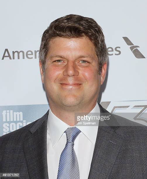 Production Designer Adam Stockhausen attends the 53rd New York Film Festival premiere of 'Bridge Of Spies' at Alice Tully Hall Lincoln Center on...