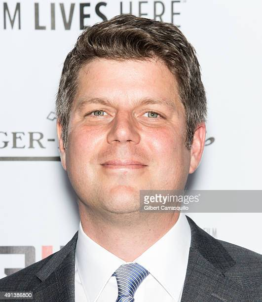 Production Designer Adam Stockhausen attends the 53rd New York Film Festival 'Bridge Of Spies' at Alice Tully Hall Lincoln Center on October 4 2015...