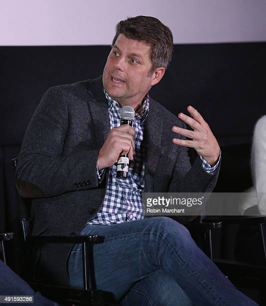 Production designer Adam Stockhausen attends The Academy Of Motion Picture Arts And Sciences Hosts An Official Academy Screening of 'Bridget of...