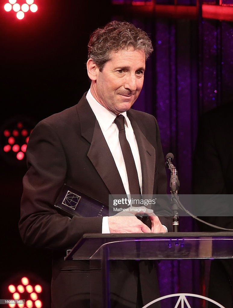 Production Designer David Gropman accepts the award for Excellence in Production Design for a Fantasy Feature Film 2012 - LIFE OF PI onstage at The 17th Annual Art Directors Guild Awards, held at the Beverly Hilton Hotel on February 2, 2013 in Beverly Hills, California.