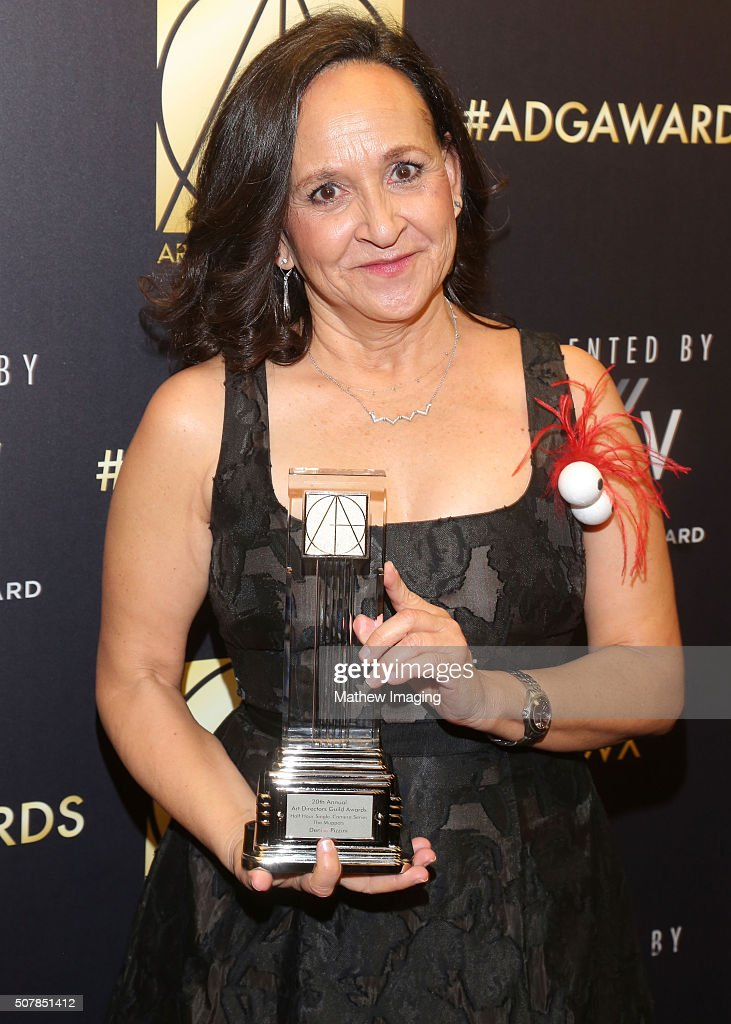 Production designer Denise Pizzini attends the 20th Annual Art Directors Guild Excellence In Production Design Awards at The Beverly Hilton Hotel on...