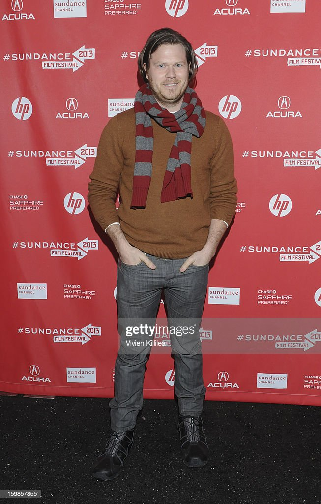 Production designer Michael Bricker attends 'Computer Chess' Premiere - 2013 Sundance Film Festival at Library Center Theater on January 21, 2013 in Park City, Utah.