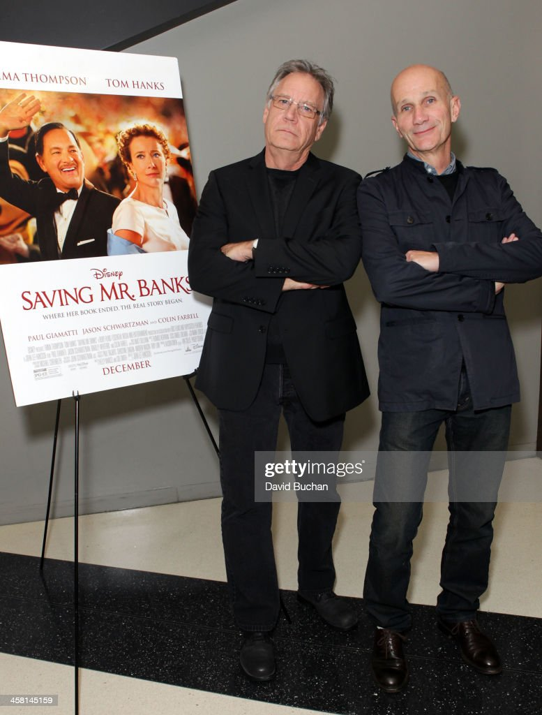 Production designer Michael Corenblith and costume designer Daniel Orlandi attend TheWrap's Awards & Foreign Screening Series 'Saving Mr. Banks' at the Landmark Theater on December 19, 2013 in Los Angeles, California.