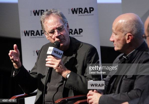 Production designer Michael Corenblith and costume designer Daniel Orlandi attend TheWrap's Awards Foreign Screening Series 'Saving Mr Banks' at the...