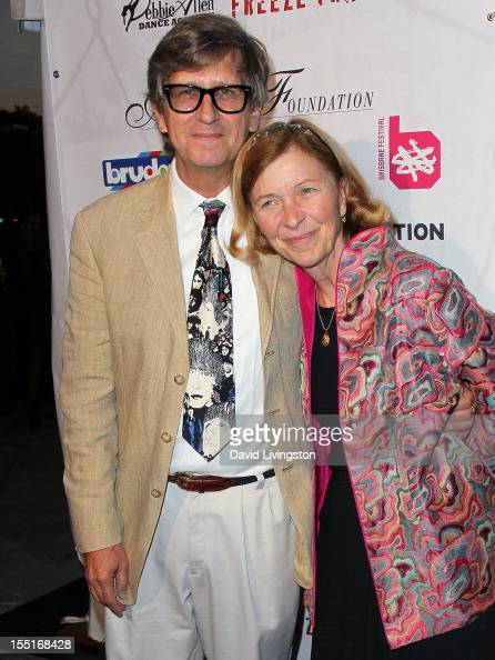 Production designer Rick Carter and wife attend the Debbie Allen Dance Academy Fundraiser Gala at the BookBindery and Brick Buildings on November 1...
