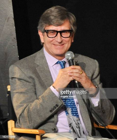 Production designer Rick Carter attends the Academy Award Nominees for Production Design and Set Decorators panel discussion at the Egyptian Theatre...