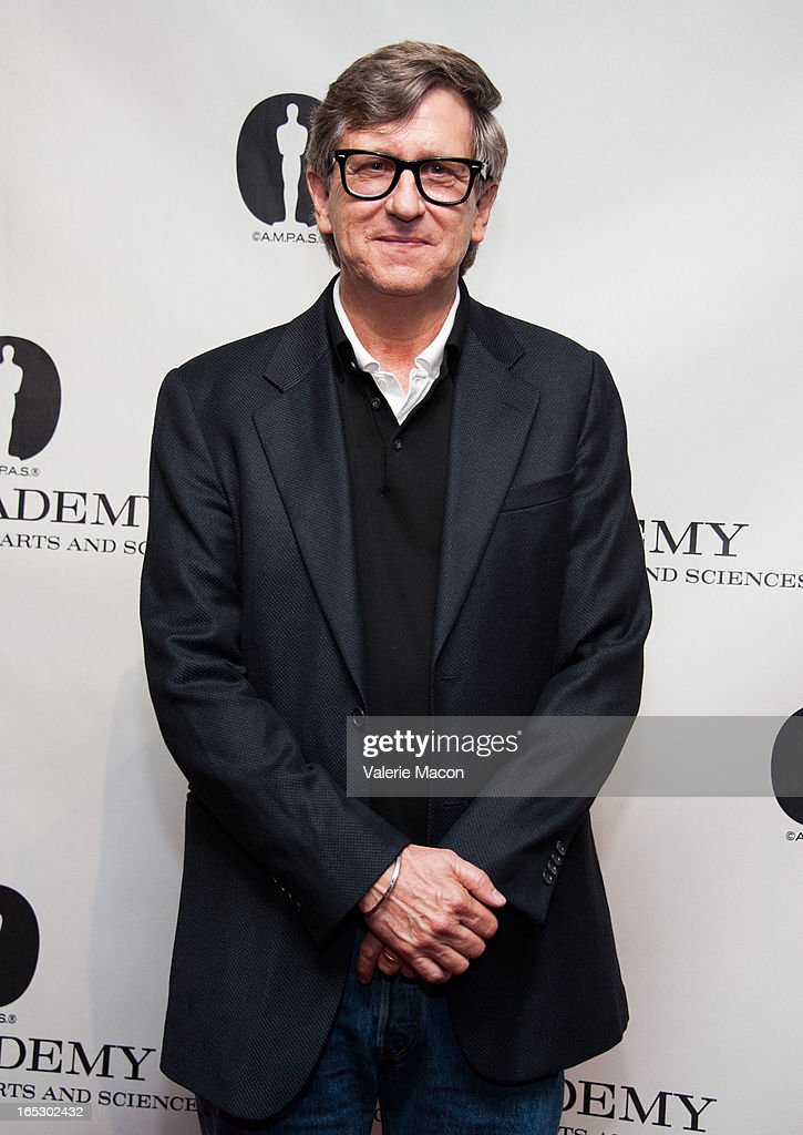 Production Designer Rick Carter attends The Academy Spotlights VFX Game-Changers: 'Jurassic Park 3D' at AMPAS Samuel Goldwyn Theater on April 2, 2013 in Beverly Hills, California.