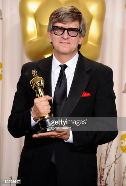 Production designer Rick Carter poses in the press room during the Oscars at the Loews Hollywood Hotel on February 24 2013 in Hollywood California
