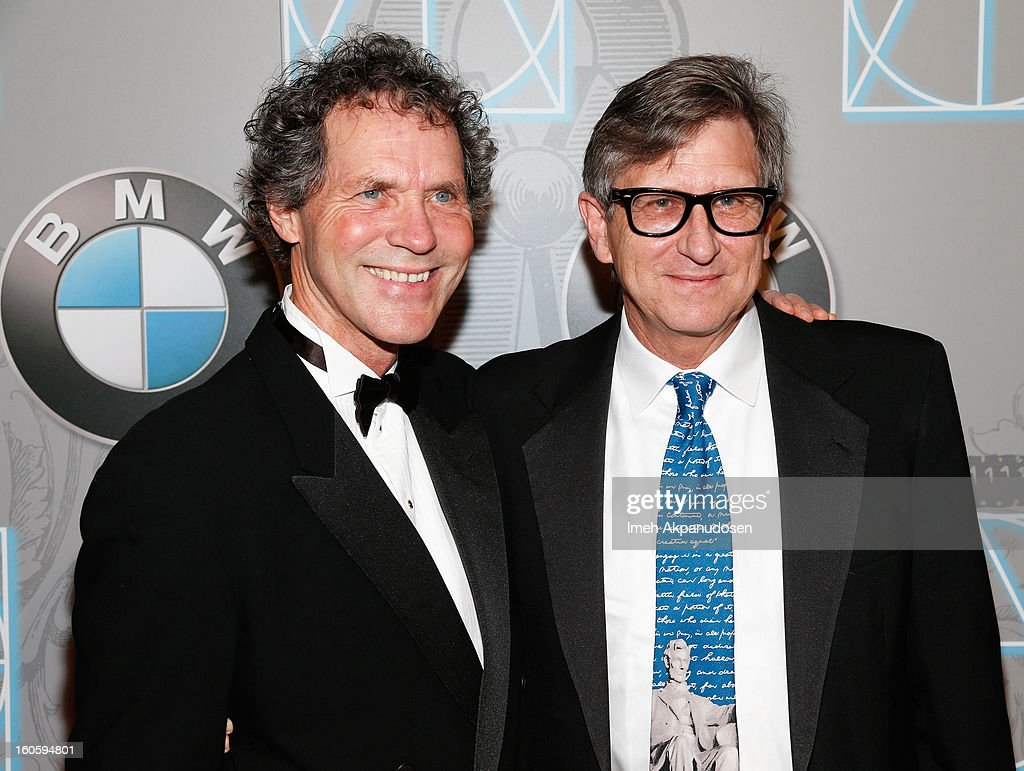 Production Designers Dennis Gassner (L) and Rick Carter attend the 17th Annual Art Directors Guild Awards For Excellence In Production Design at The Beverly Hilton Hotel on February 2, 2013 in Beverly Hills, California.