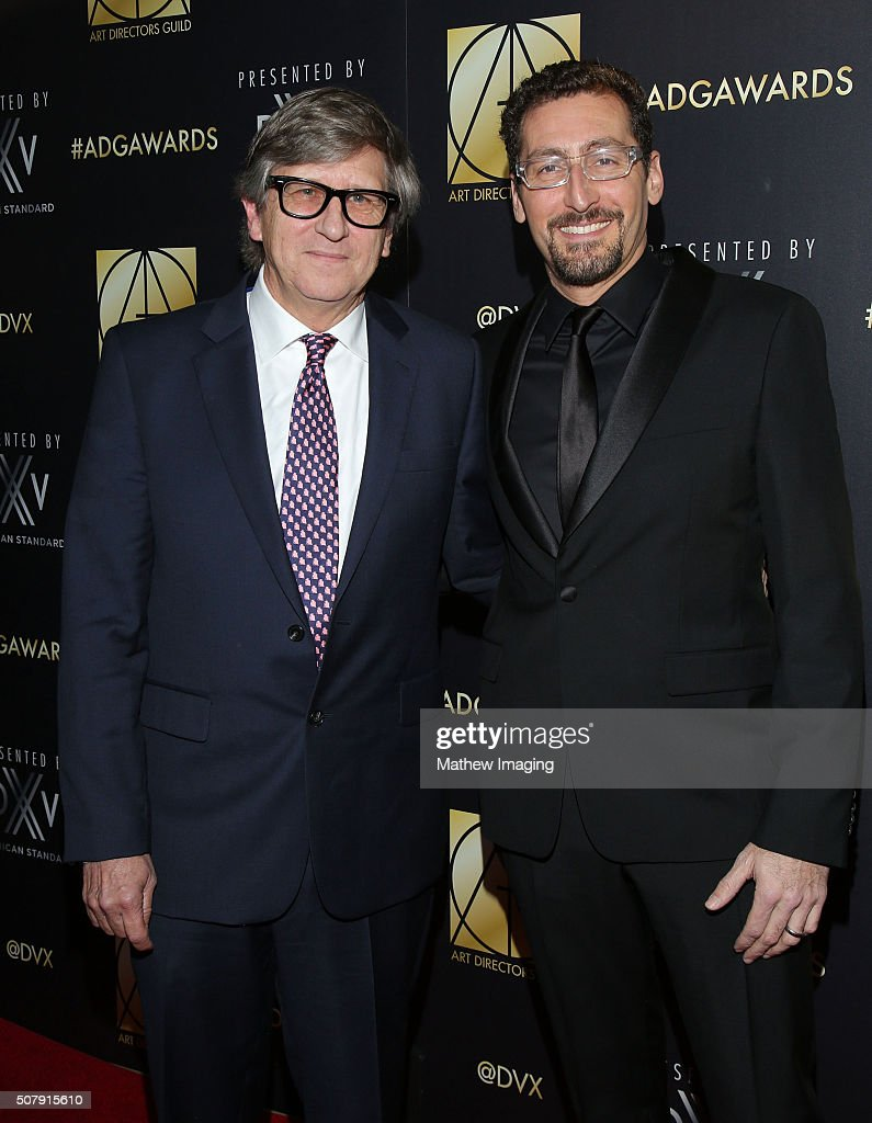 Production designers Rick Carter and Darren Gilford arrive at the 20th Annual Art Directors Guild Excellence In Production Design Awards at The...
