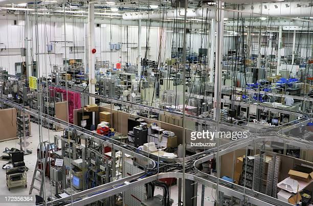 Production Floor Interior Infrastructures