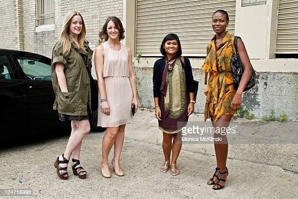 production manager for edun americas jessica ramey wearing an edun ensemble with rag bone shoes and - Fashion Production Manager