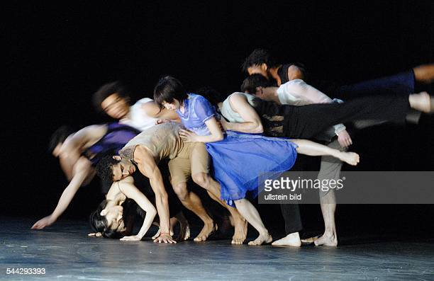 Production of Sasha Waltz' ballet 'Fantasie' with the Ballet de l'Opéra de Lyon in the 'Radialsystem V' Berlin choreographer Sascha Waltz premiere