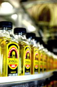 Production process of cod liver oil at Seven Seas factory on November 10 2009 in Hull England