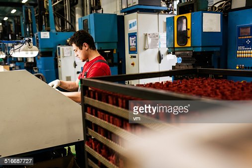 Production Line Workers Photo – Production Worker