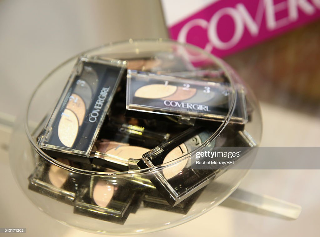 Products are displayed at Fashion And Beauty @BETX presented by Progressive, Covergirl, Strength of Nature, Korbel and Macy's during the 2016 BET Experience on June 26, 2016 in Los Angeles, California.