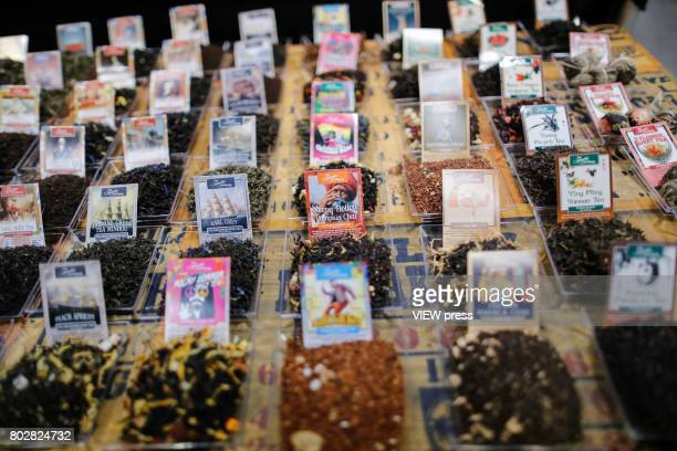 Products are displayed at the Annual Summer Fancy Food Show on June 262017 at the Javits Center in New York City