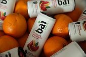 Products are displayed at the Bai VIP Lounge on day one of The Panorama Music Festival at Randall's Island on July 22 2016 in New York City