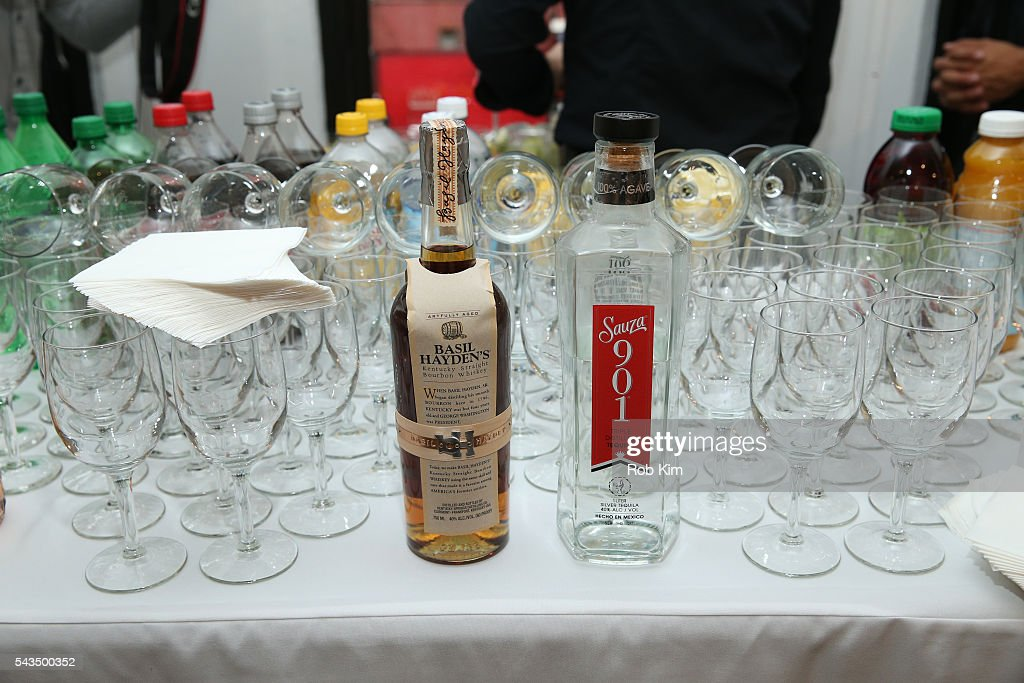 Products at 'Gotham Magazine Celebrates Art of the City with Lisa Schulte' event at Voltz Clarke Gallery on June 28, 2016 in New York City.