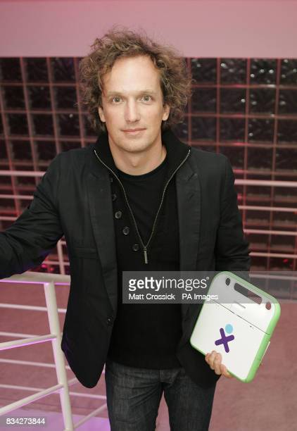 Products category winner Yves Behar at the Brit Insurance Design Awards at the Design Museum London