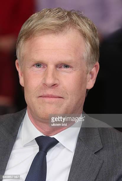 Prof Dr Henrik Enderlein in der ZDFTalkshow 'Maybrit_Illner' am in BerlinThema der Sendung Athen gegen alle Scheitert der Euro
